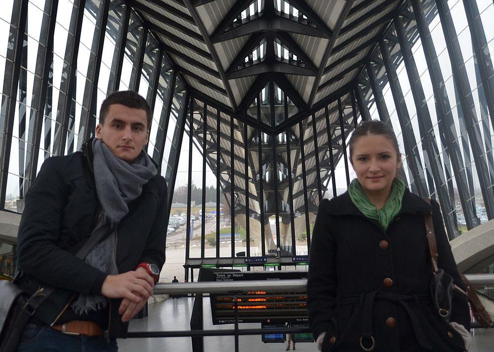 Eliza Bălana și Sergiu Tîrziu