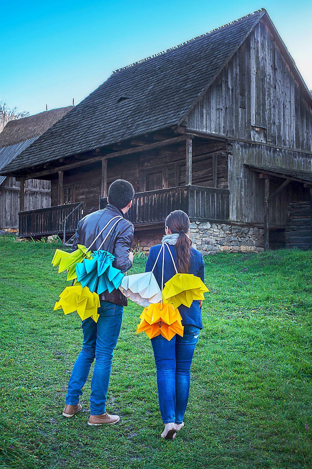 adelaparvu.com despre lampi origami, Happy Lamps, designeri Eliza Balana si Sergiu Tirziu (12)