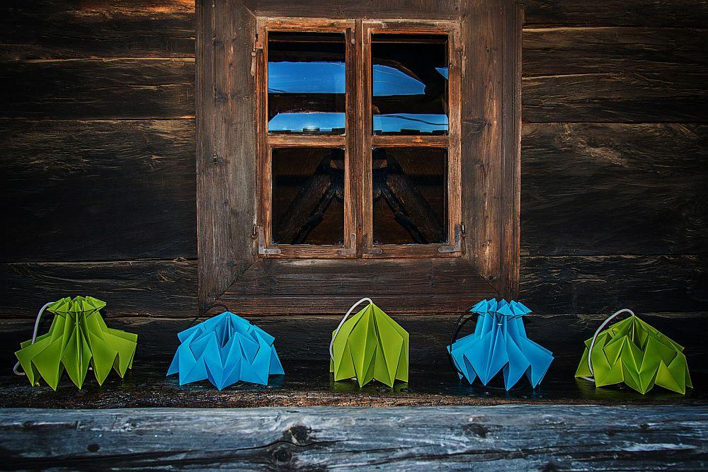 adelaparvu.com despre lampi origami, Happy Lamps, designeri Eliza Balana si Sergiu Tirziu (3)
