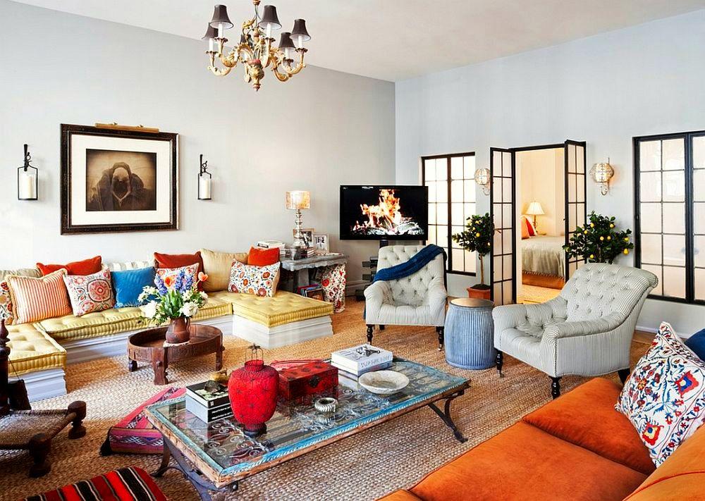 adelaparvu.com despre loft in stil eclectic cu influente marocane, morrocan style, designer Deborah French, Foto Yiorgos Kordakis (3)