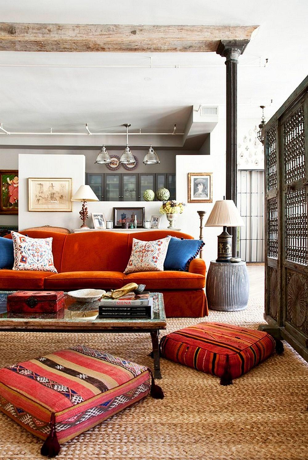 adelaparvu.com despre loft in stil eclectic cu influente marocane, morrocan style, designer Deborah French, Foto Yiorgos Kordakis (4)