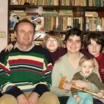 Agnes Ile alaturi de familia ei