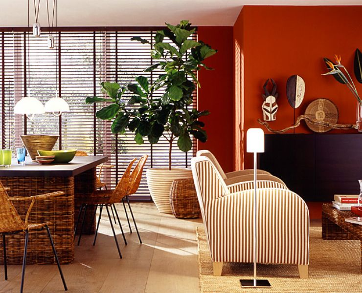 adelaparvu.com despre mobila si obiecte din impletituri la interior, Foto Schoener Wohnen  (4)