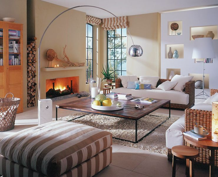 adelaparvu.com despre mobila si obiecte din impletituri la interior, Foto Schoener Wohnen  (7)