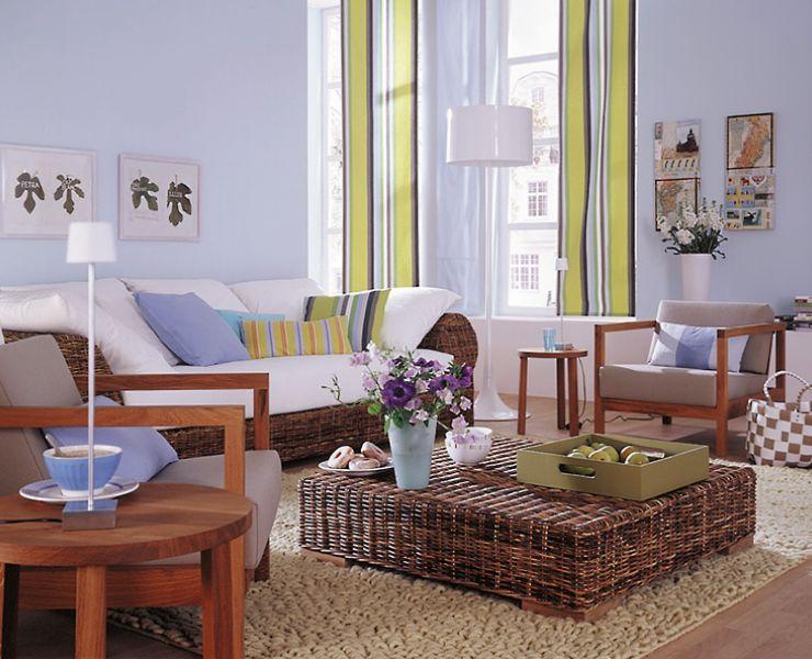 adelaparvu.com despre mobila si obiecte din impletituri la interior, Foto Schoener Wohnen  (9)