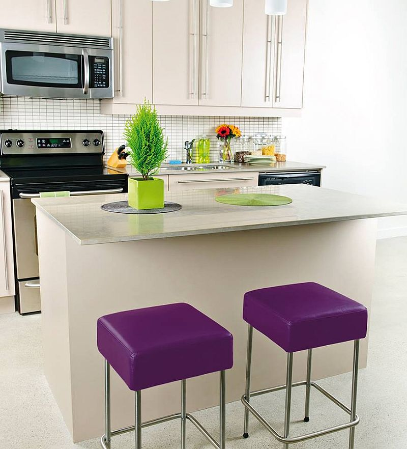 adelaparvu.com despre mobilier fix din BCA, mese insula, rafturi, pereti despartiotori, semineuri cu Ytong Design (12)