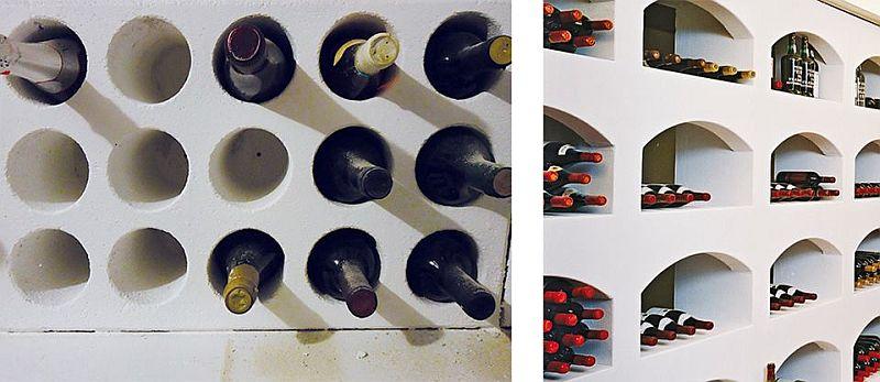 adelaparvu.com despre mobilier fix din BCA, mese insula, rafturi, pereti despartiotori, semineuri cu Ytong Design (6)