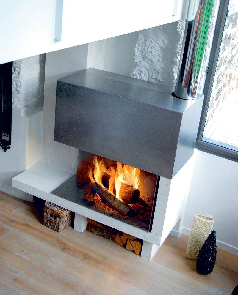 adelaparvu.com despre mobilier fix din BCA, mese insula, rafturi, pereti despartiotori, semineuri cu Ytong Design (9)