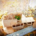Obiecte impletite din papura. Foto Moldovenii.md