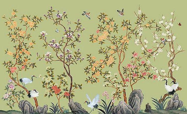 adelaparvu.com despre tapete pictate manual, tapete de matase brodate manual, Foto Yrmural Studio (28)