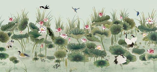adelaparvu.com despre tapete pictate manual, tapete de matase brodate manual, Foto Yrmural Studio (29)