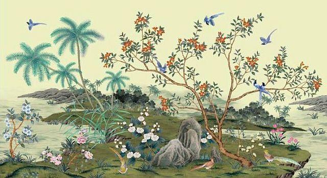 adelaparvu.com despre tapete pictate manual, tapete de matase brodate manual, Foto Yrmural Studio (30)