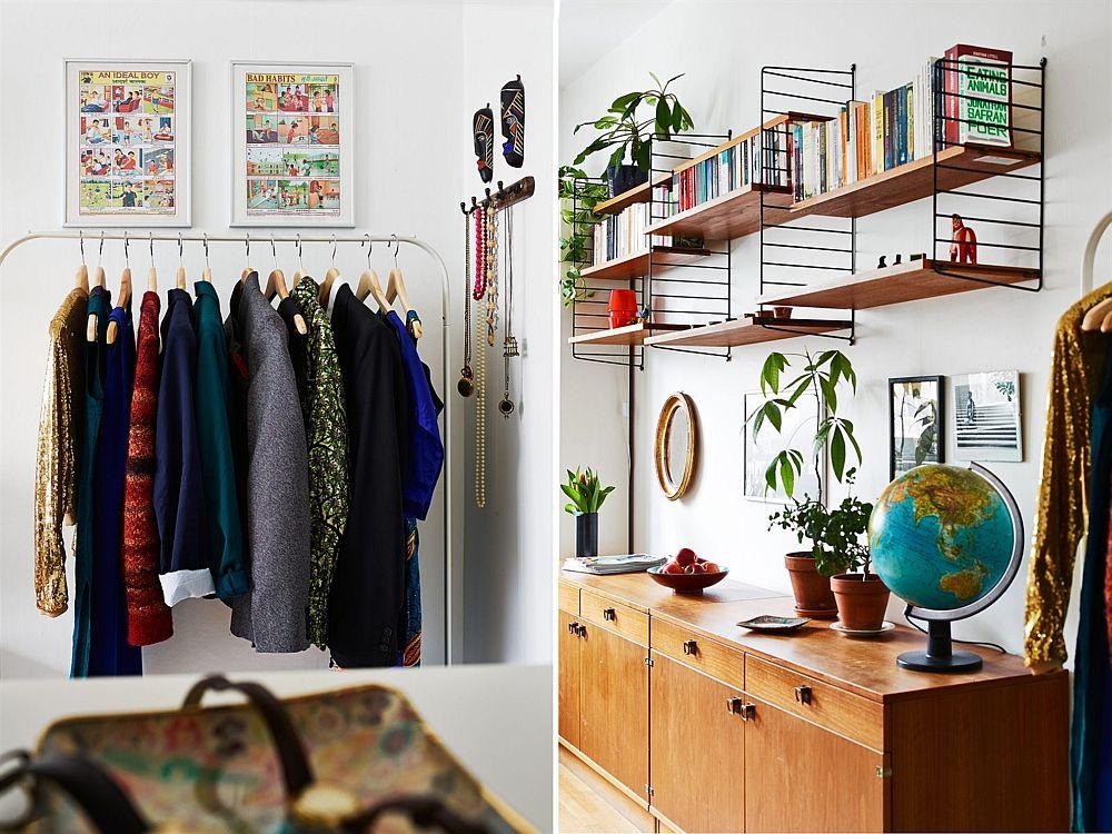 adelaparvu.com, garsoniera cu aer vintage, loc de canapea si pat in aceesi camera, Foto Stadshem (5)