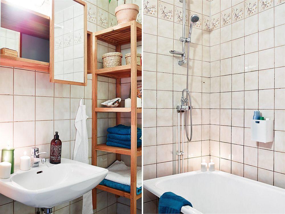 adelaparvu.com, garsoniera cu aer vintage, loc de canapea si pat in aceesi camera, Foto Stadshem (6)