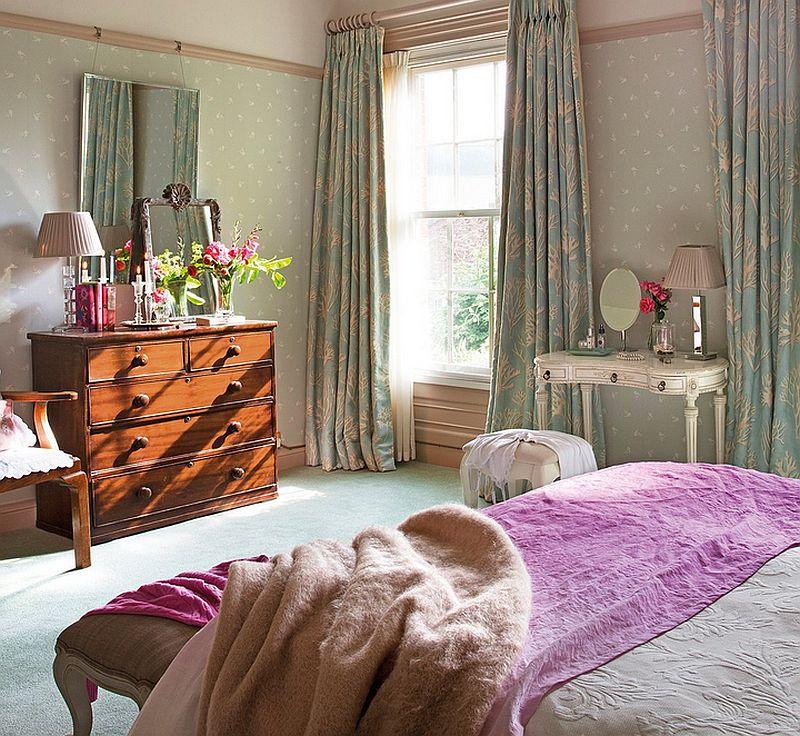 adelparvu.com despre casa colorata cu textile, casa Anglia in stil georgian, Foto ElMueble (14)