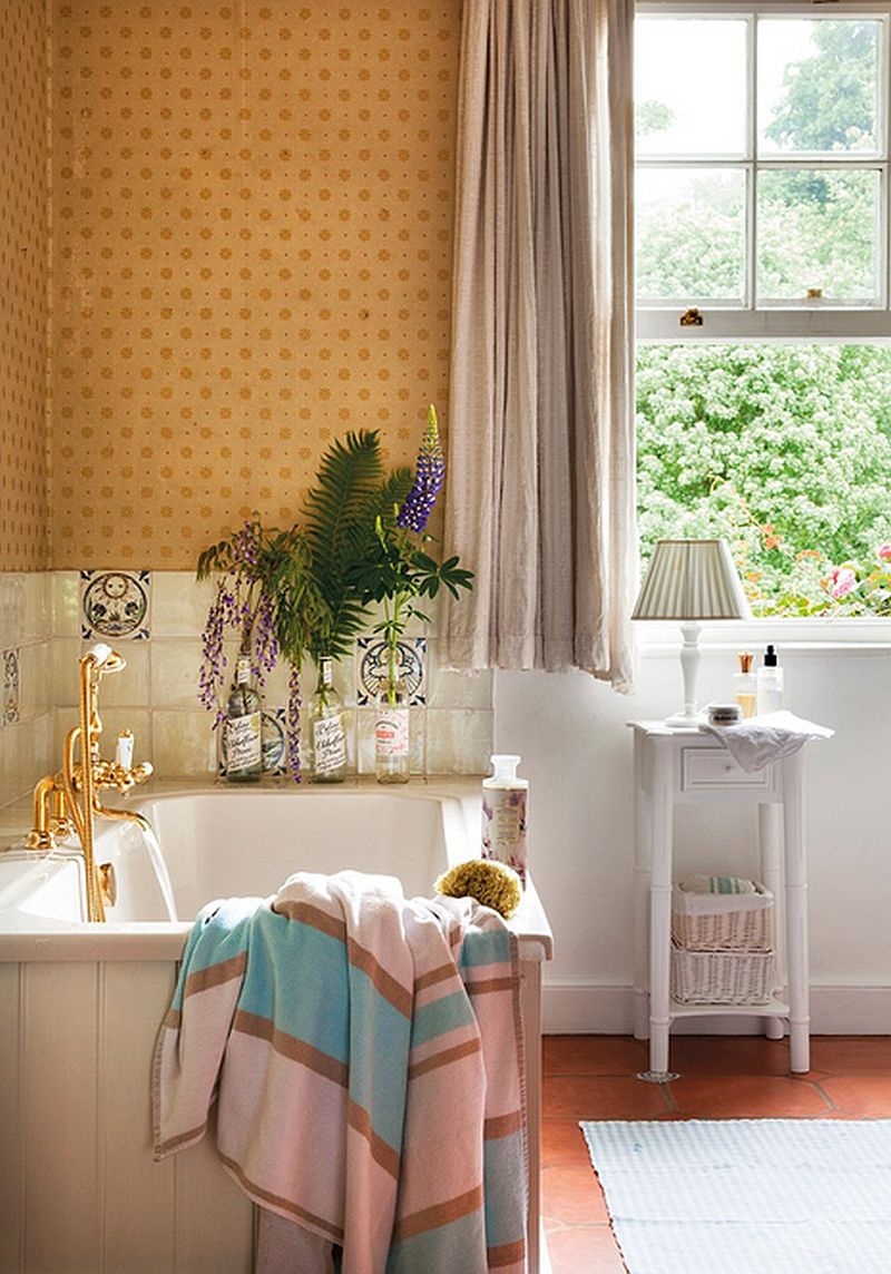 adelparvu.com despre casa colorata cu textile, casa Anglia in stil georgian, Foto ElMueble (16)