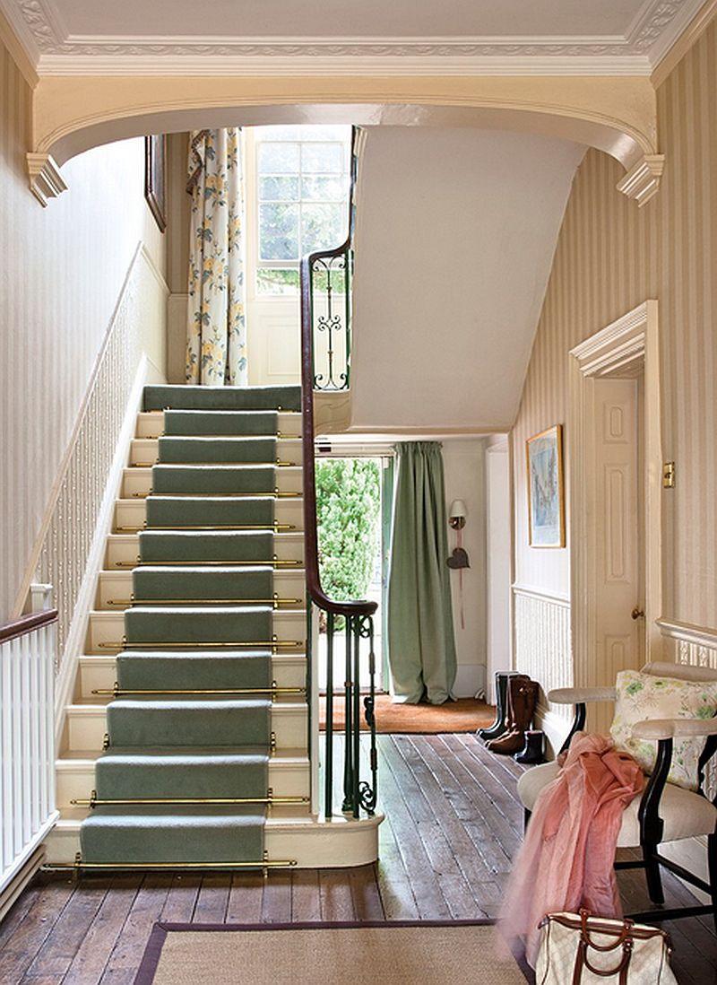 adelparvu.com despre casa colorata cu textile, casa Anglia in stil georgian, Foto ElMueble (2)