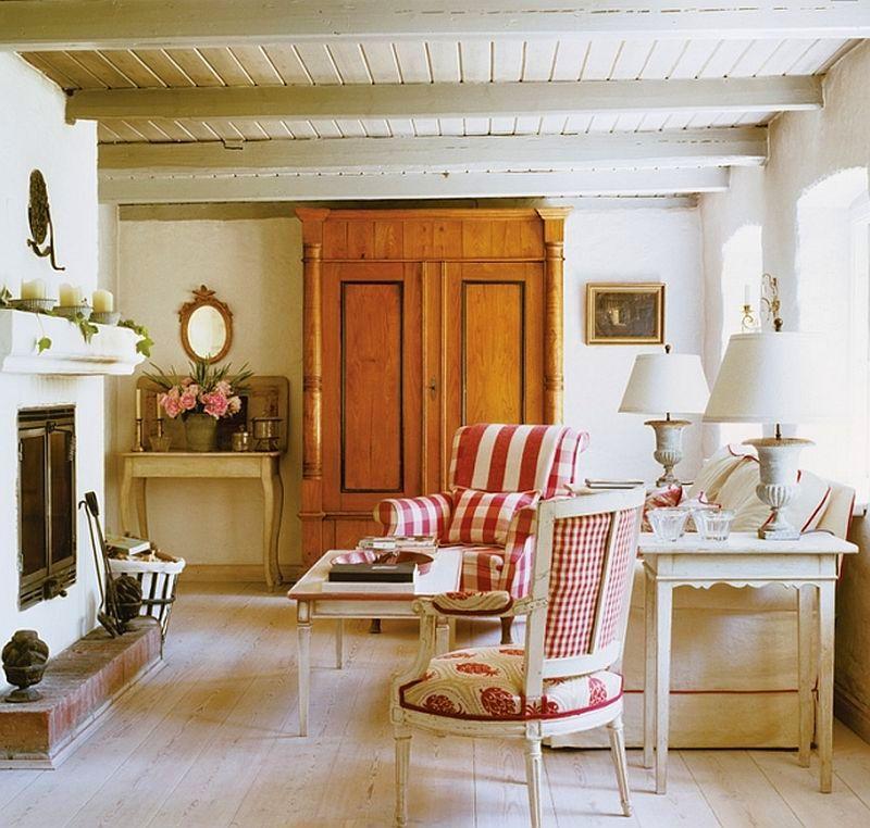adelaparvu.com casa rustica cu acoperis din stuf, casa Germania, designer Monique Waque, Foto Andreas von Einsiedel (10)