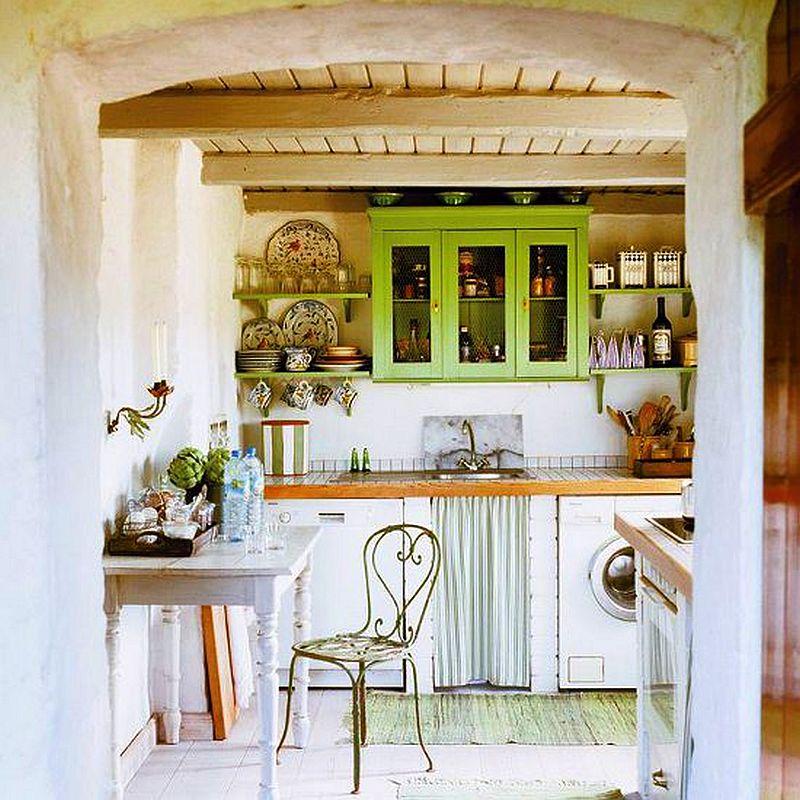 adelaparvu.com casa rustica cu acoperis din stuf, casa Germania, designer Monique Waque, Foto Andreas von Einsiedel (15)