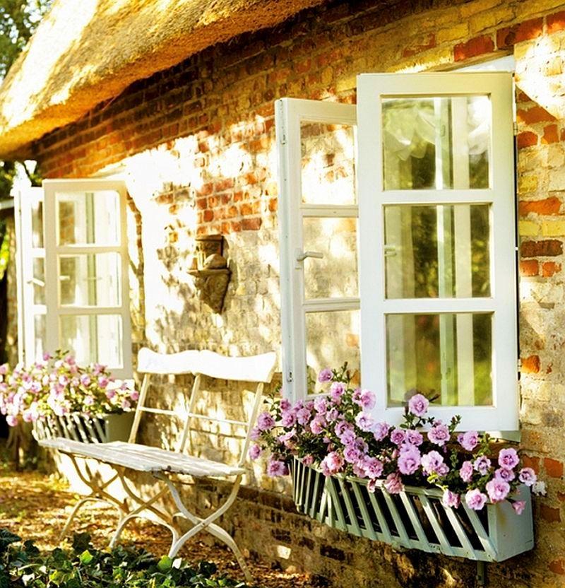 adelaparvu.com casa rustica cu acoperis din stuf, casa Germania, designer Monique Waque, Foto Andreas von Einsiedel (7)