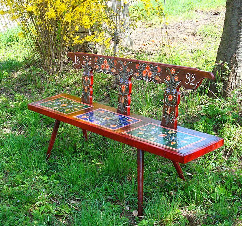 adelaparvu.com despre Corina Petculesc, Dragos Petculescu, mobila traditionala pictata, icoane ortodoxe pictate pe sticla si lemn (18)