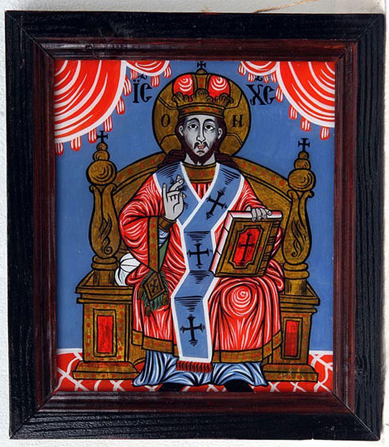 adelaparvu.com despre Corina Petculesc, Dragos Petculescu, mobila traditionala pictata, icoane ortodoxe pictate pe sticla si lemn (29)