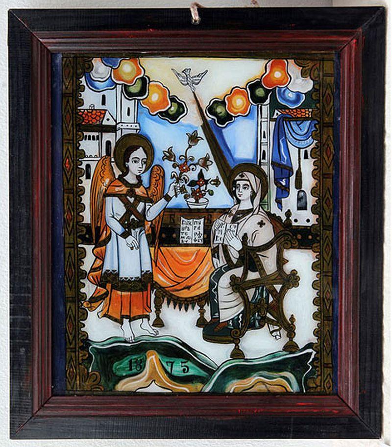 adelaparvu.com despre Corina Petculesc, Dragos Petculescu, mobila traditionala pictata, icoane ortodoxe pictate pe sticla si lemn (31)