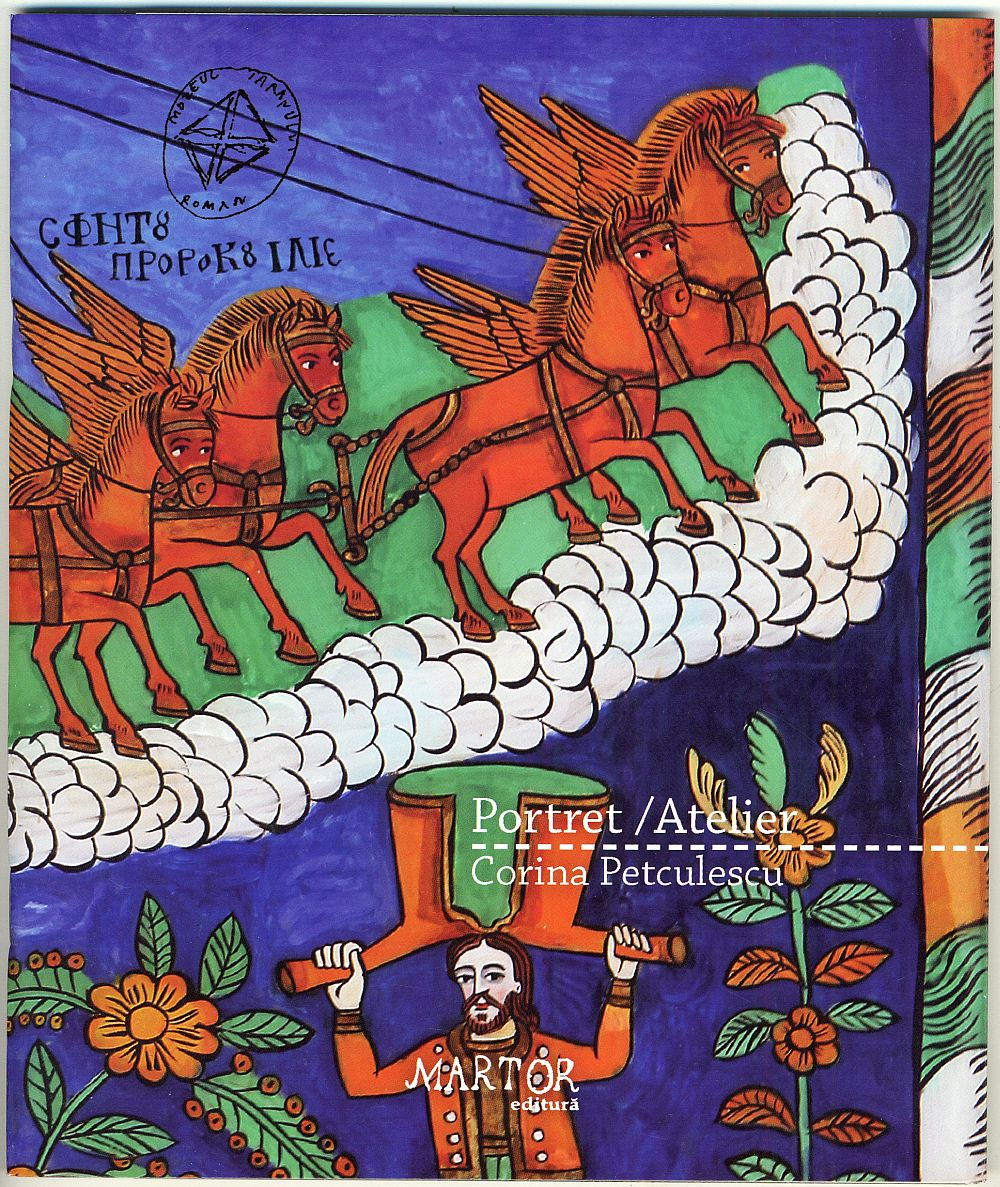 adelaparvu.com despre Corina Petculesc, Dragos Petculescu, mobila traditionala pictata, icoane ortodoxe pictate pe sticla si lemn