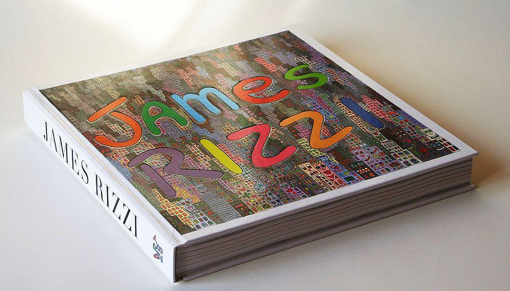 Cartea cu operele lui James Rizzi