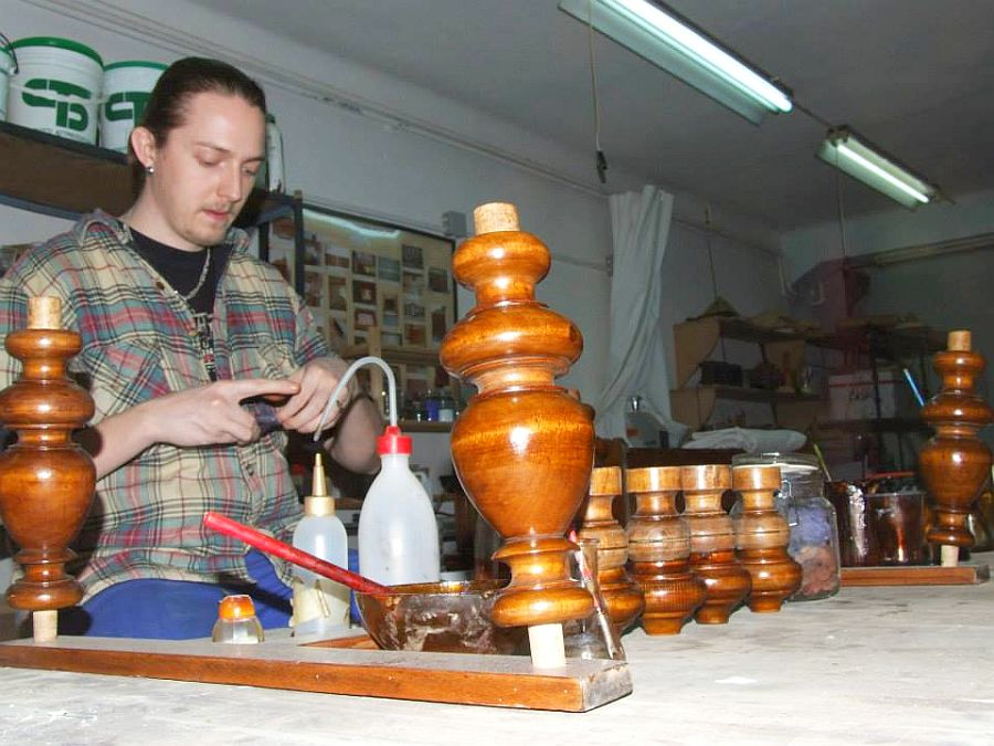 adelaparvu.com despre Mirel Matefi restaurator de arta, reconditionare obiecte vechi (8)