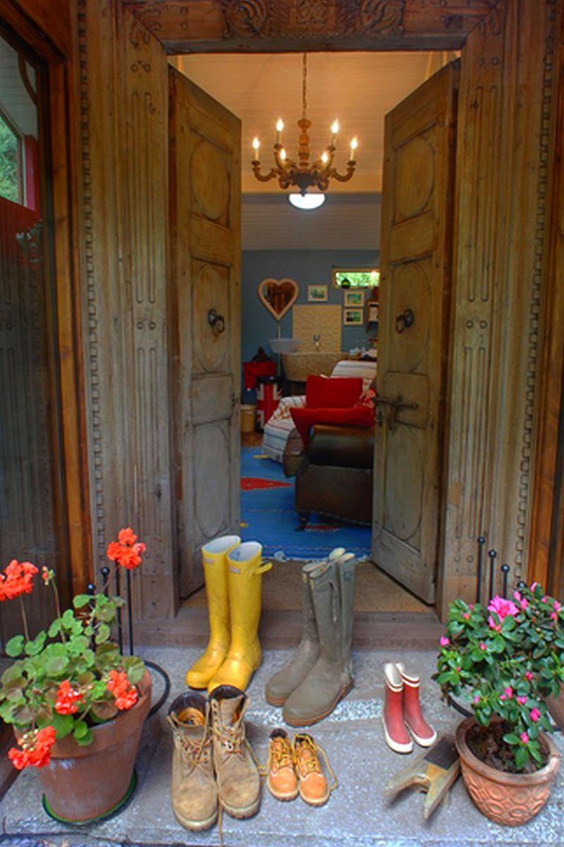 adelaparvu.com despre The Secret Holt, casa rustica, casa Marea Britanie, casa cu gradina in stil british, Foto Unique Stays Home (20)