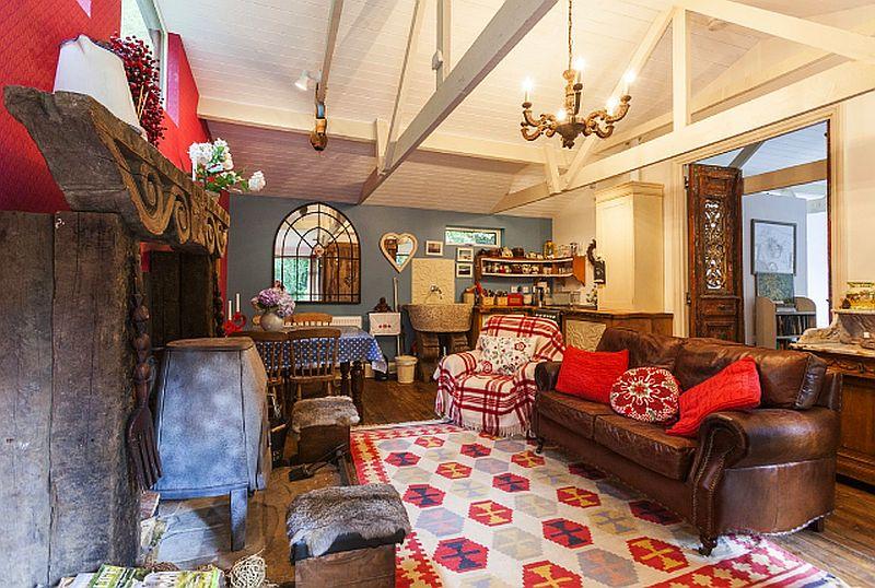 adelaparvu.com despre The Secret Holt, casa rustica, casa Marea Britanie, casa cu gradina in stil british, Foto Unique Stays Home (3)