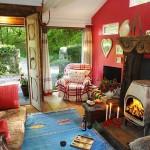 adelaparvu.com despre The Secret Holt, casa rustica, casa Marea Britanie, casa cu gradina in stil british, Foto Unique Stays Home (7)