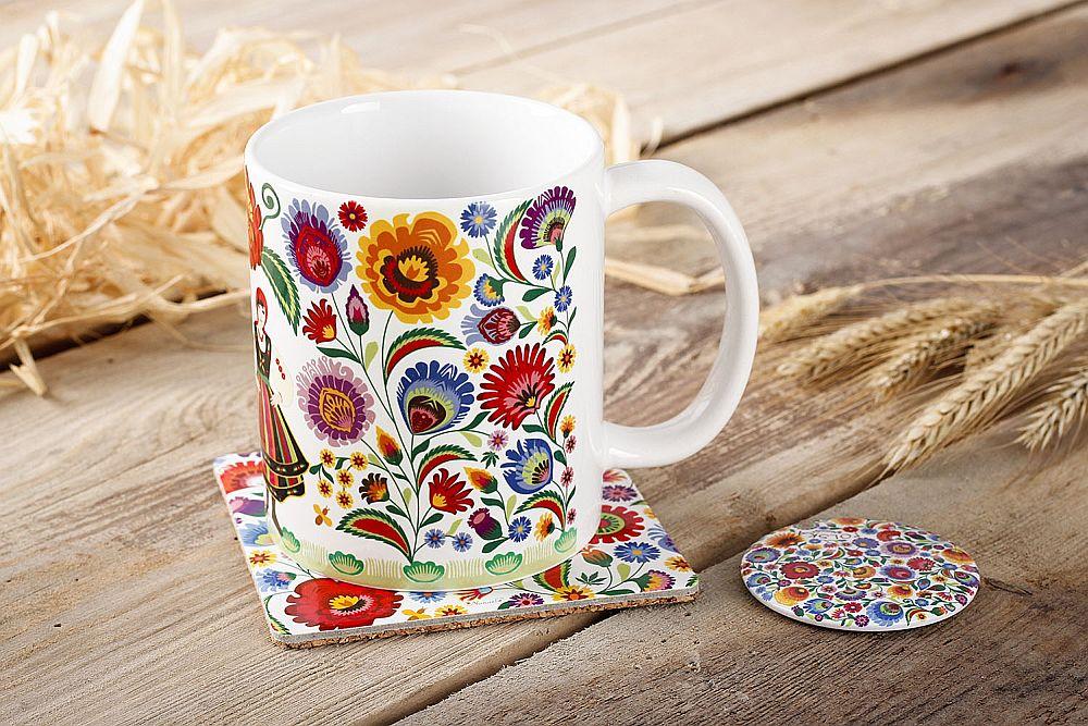 adelaparvu.com despre accesorii de masa colorate, servetele de hartie si suporturi de masa cu motive traditionale poloneze Łowicz (10)
