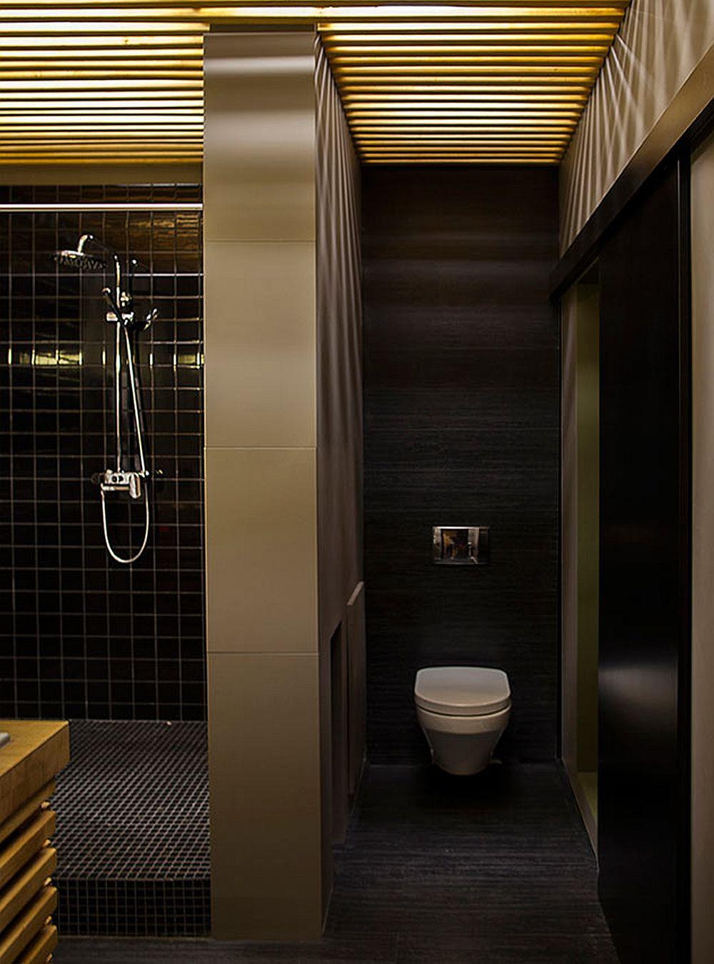 adelaparvu.com despre amenajare apartament de doua camere, mobila cu OSB, concept Constant Motion, arhitect AlexBykov (19)