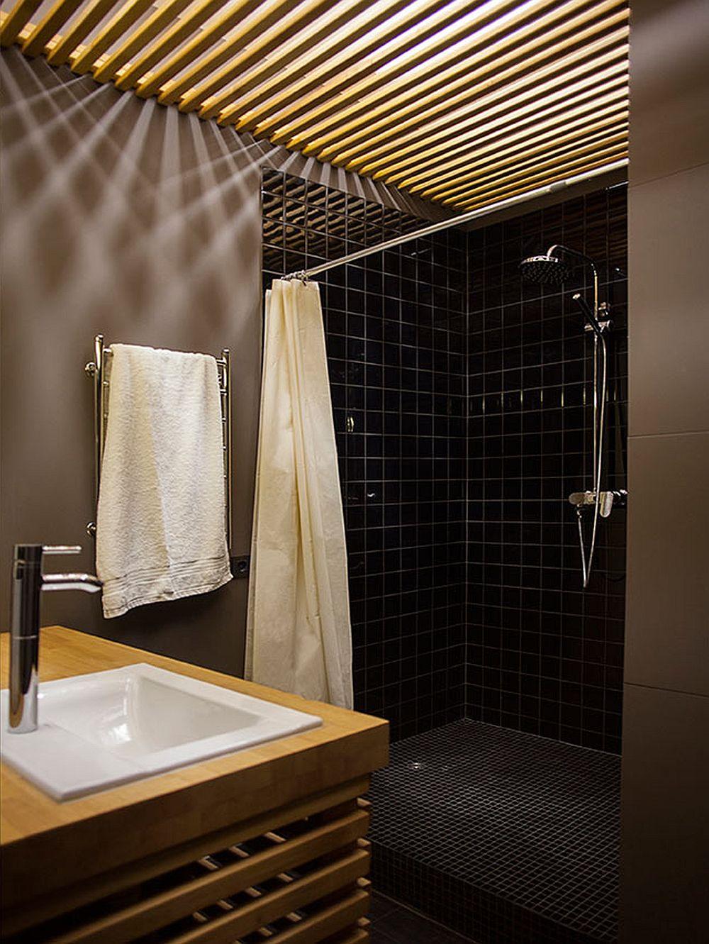 adelaparvu.com despre amenajare apartament de doua camere, mobila cu OSB, concept Constant Motion, arhitect AlexBykov (20)