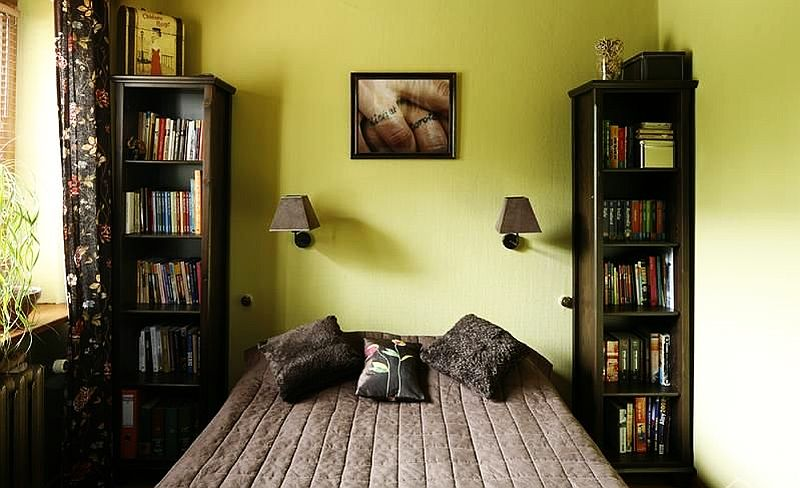adelaparvu.com despre amenajare exotica la bloc, designeri Dorothy si Michael Lugovoi, apartament de bloc cu mobila si obiecte exotice (10)