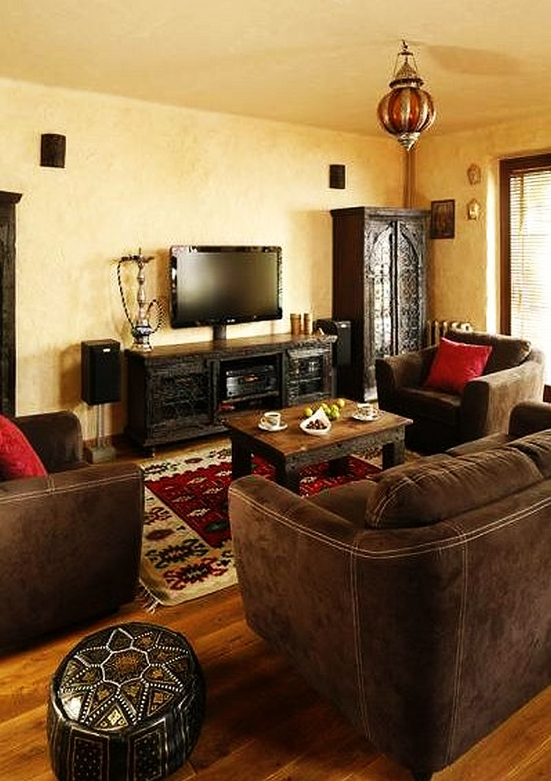 adelaparvu.com despre amenajare exotica la bloc, designeri Dorothy si Michael Lugovoi, apartament de bloc cu mobila si obiecte exotice (4)