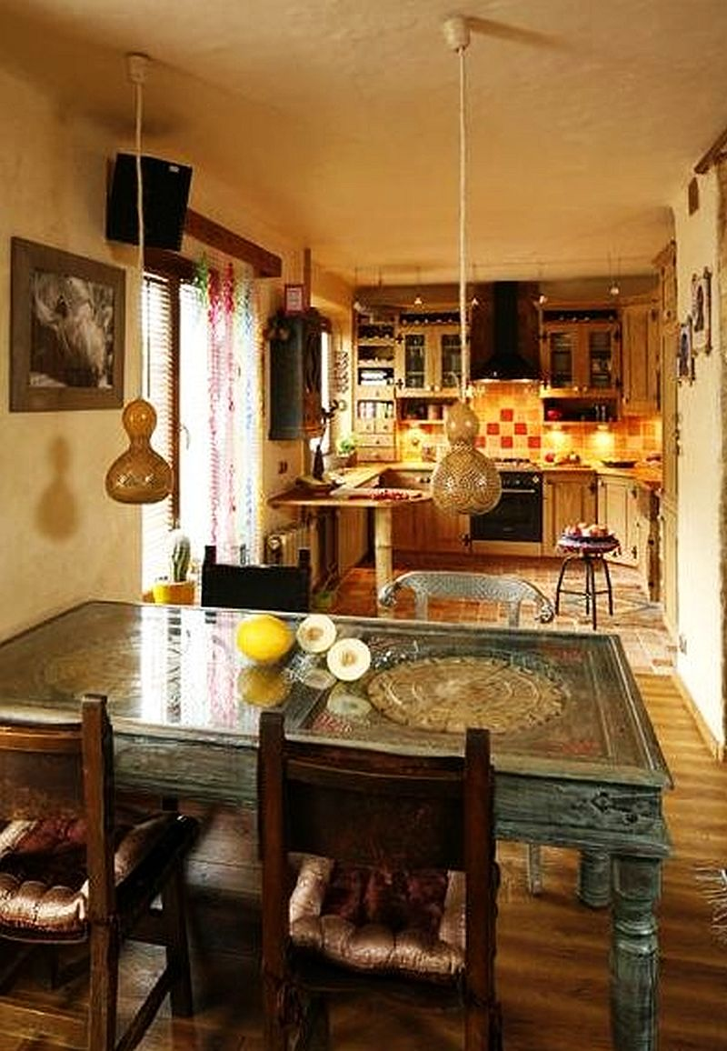 adelaparvu.com despre amenajare exotica la bloc, designeri Dorothy si Michael Lugovoi, apartament de bloc cu mobila si obiecte exotice (5)