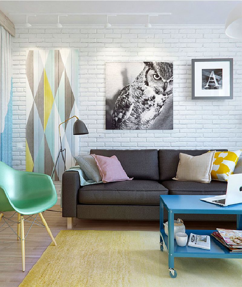 adelaparvu.com despre amenajare ingenioasa apartament doua camere de 45 mp, arhitectura InteriorNI (2)