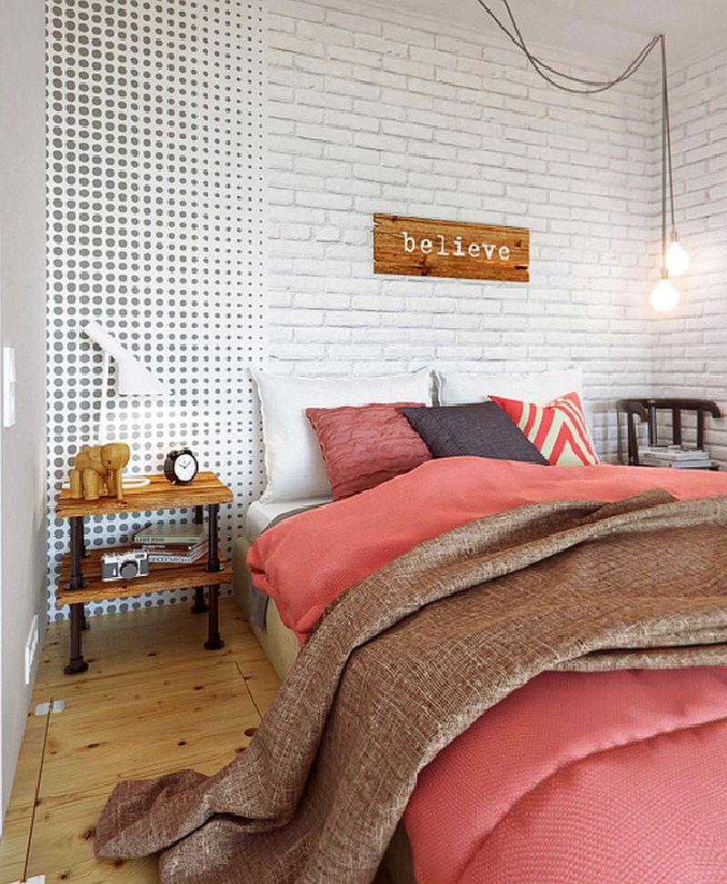 adelaparvu.com despre amenajare ingenioasa apartament doua camere de 45 mp, arhitectura InteriorNI (6)