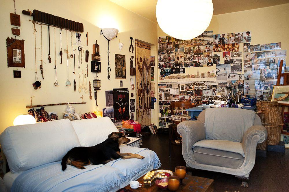 adelaparvu.com despre apartament boem de doua camere Bucuresti, designer Mihaela Poenaru, Foto Dragos Boldea (1)