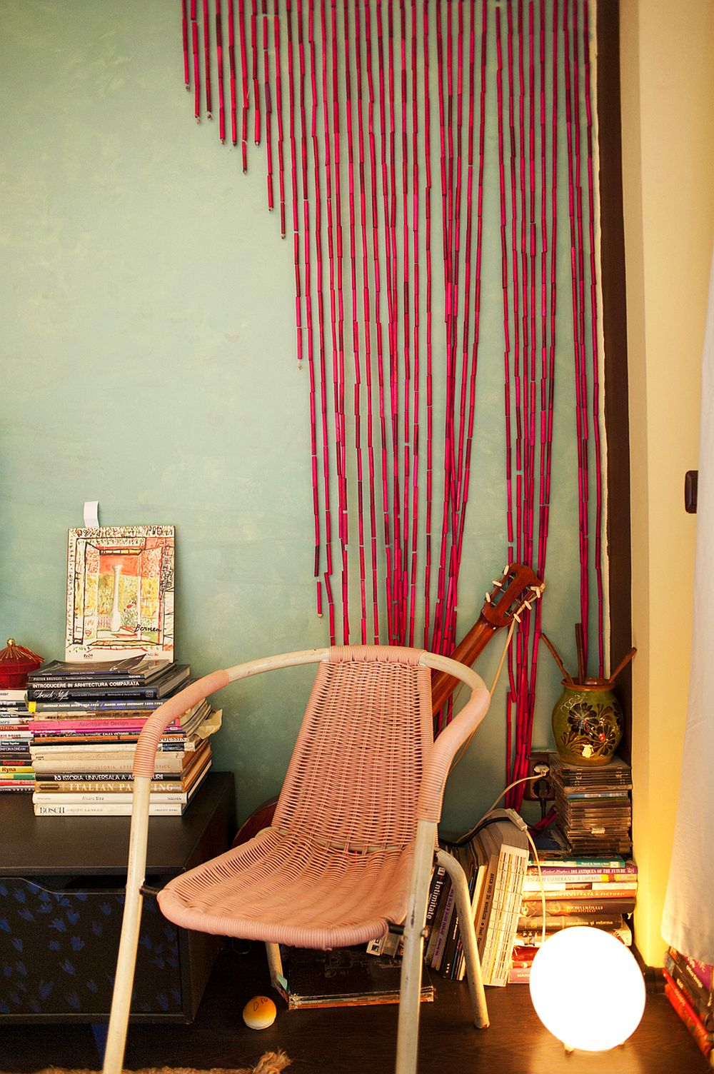 adelaparvu.com despre apartament boem de doua camere Bucuresti, designer Mihaela Poenaru, Foto Dragos Boldea (10)
