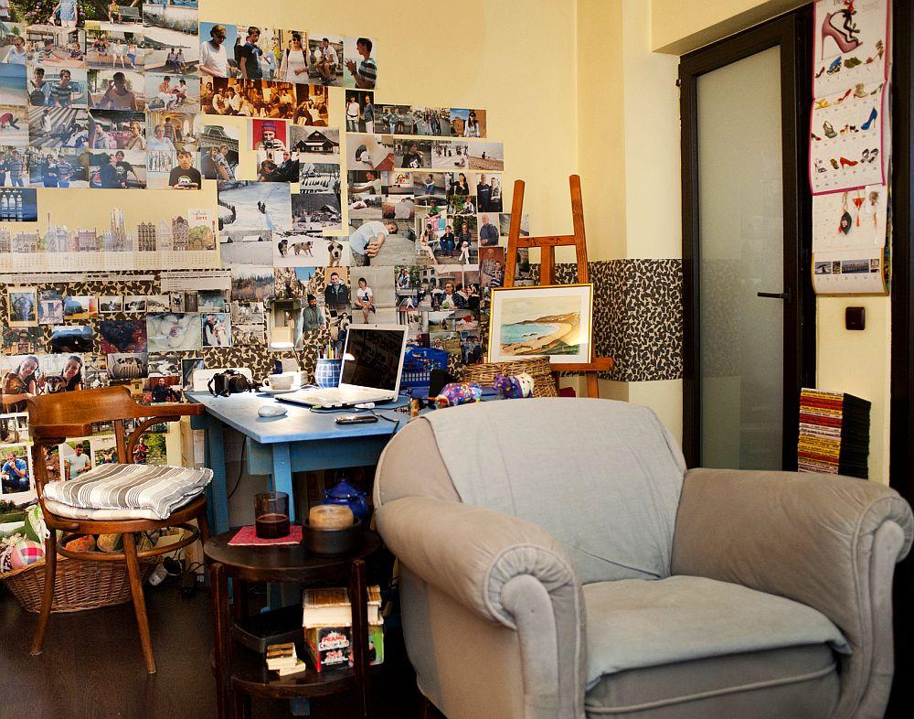 adelaparvu.com despre apartament boem de doua camere Bucuresti, designer Mihaela Poenaru, Foto Dragos Boldea (11)