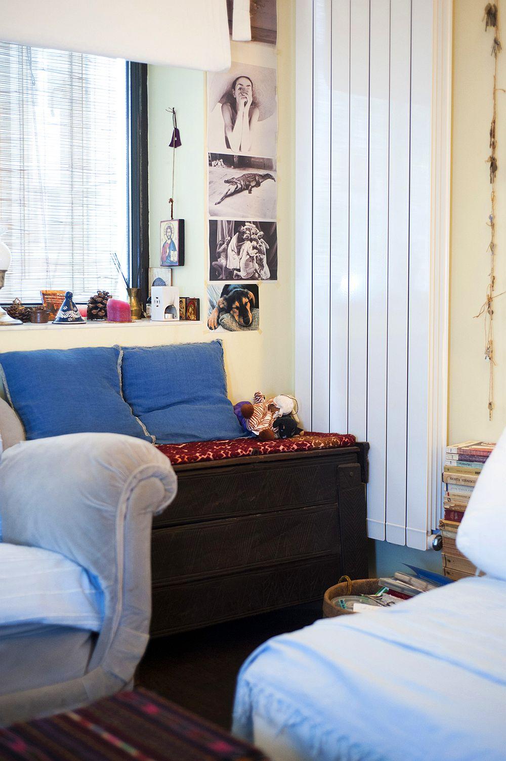 adelaparvu.com despre apartament boem de doua camere Bucuresti, designer Mihaela Poenaru, Foto Dragos Boldea (15)