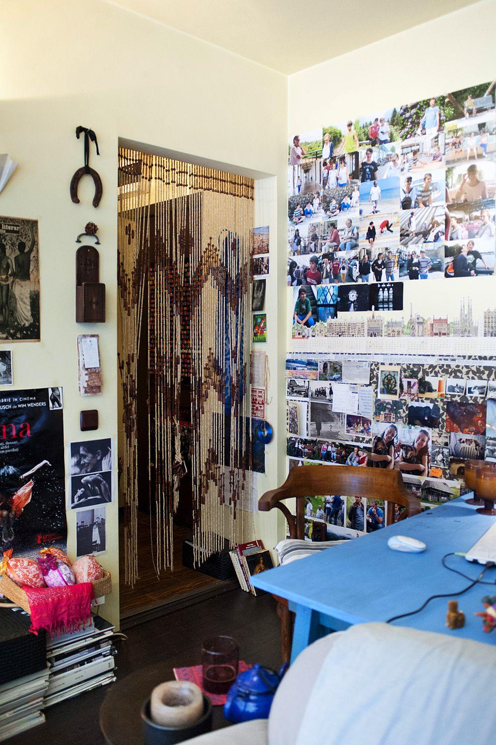 adelaparvu.com despre apartament boem de doua camere Bucuresti, designer Mihaela Poenaru, Foto Dragos Boldea (26)