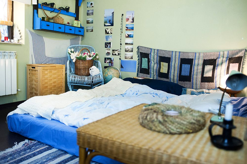 adelaparvu.com despre apartament boem de doua camere Bucuresti, designer Mihaela Poenaru, Foto Dragos Boldea (28)