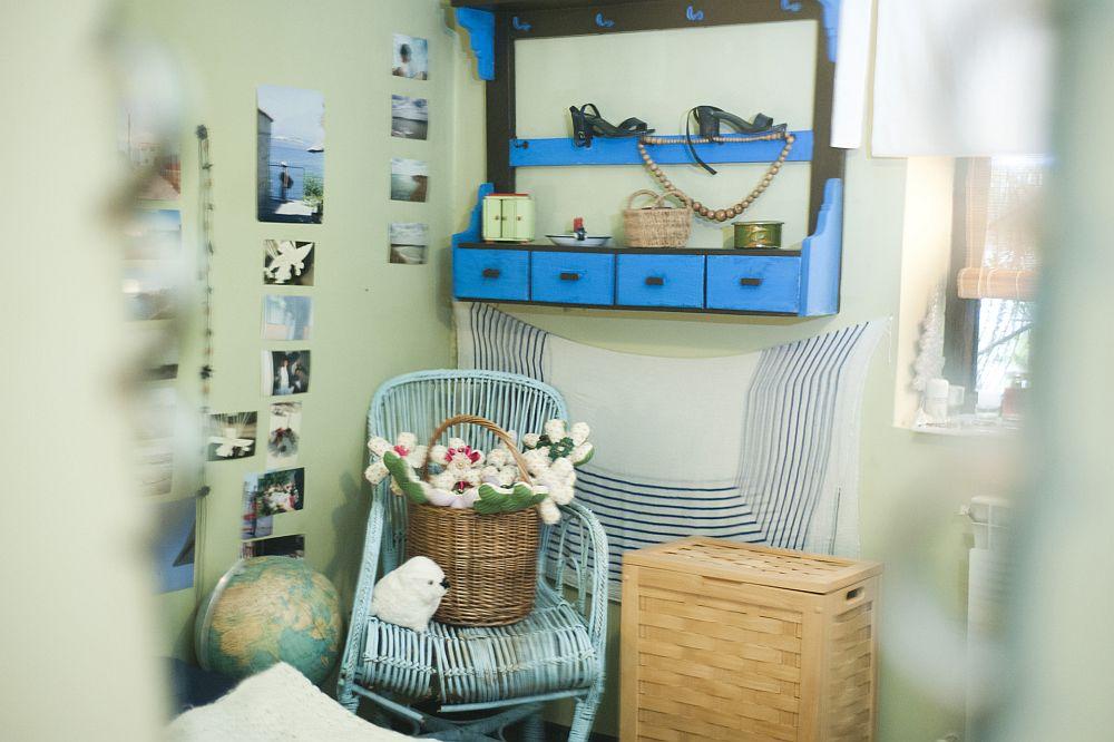 adelaparvu.com despre apartament boem de doua camere Bucuresti, designer Mihaela Poenaru, Foto Dragos Boldea (30)