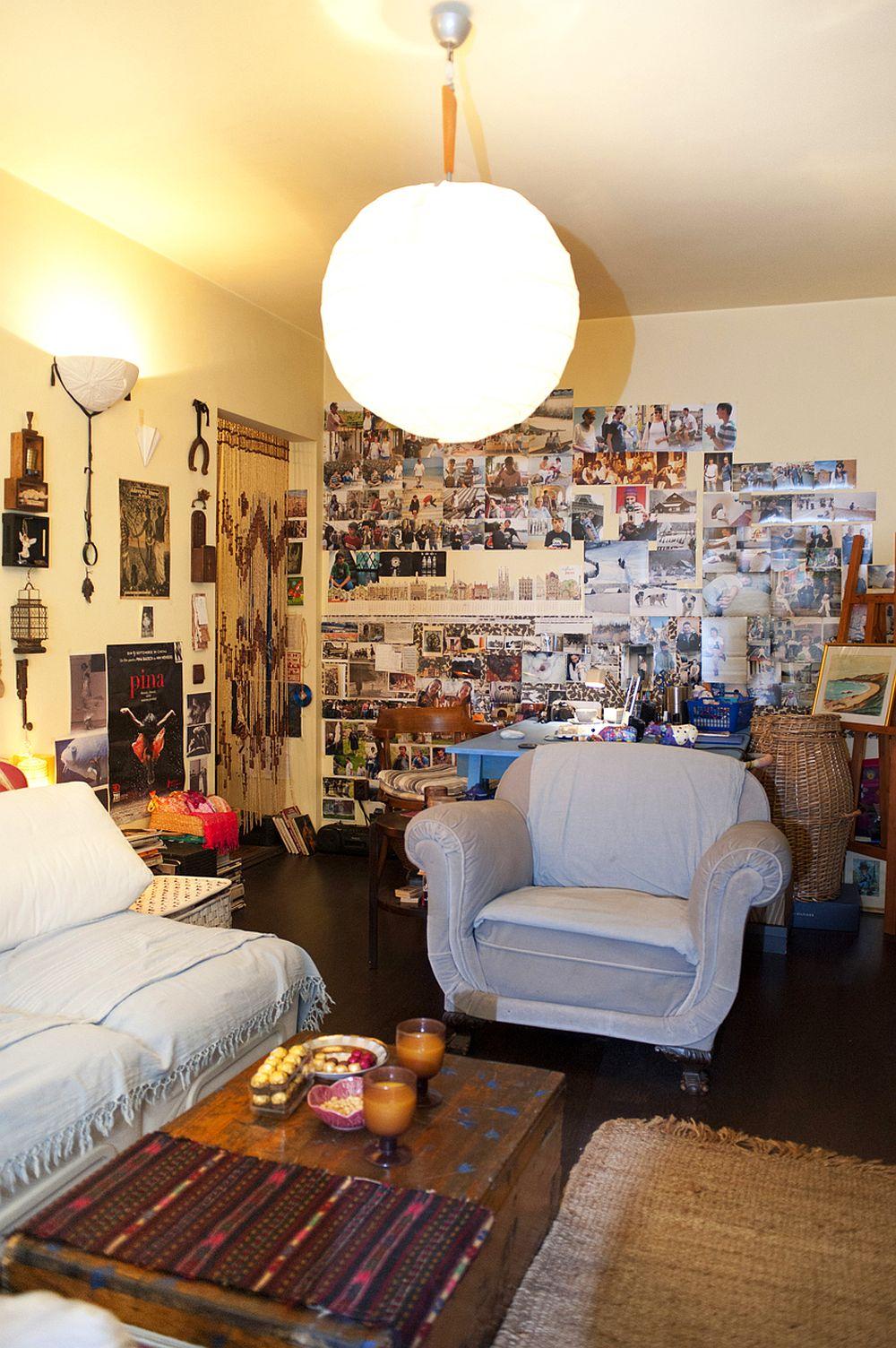 adelaparvu.com despre apartament boem de doua camere Bucuresti, designer Mihaela Poenaru, Foto Dragos Boldea (9)