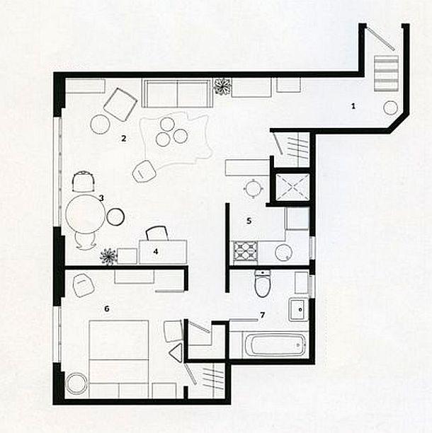 adelaparvu.com despre apartament de 25 mp, designer Marcus Hay, Foto Jonny Valiant (7)